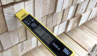 Wood humidity - right values